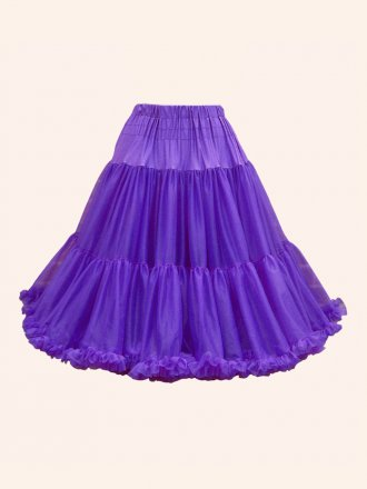 Deluxe Petticoat Purple