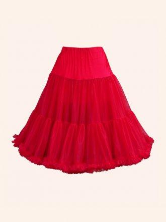 Deluxe Petticoat Red
