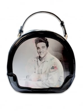 Elvis Black Vanity Case