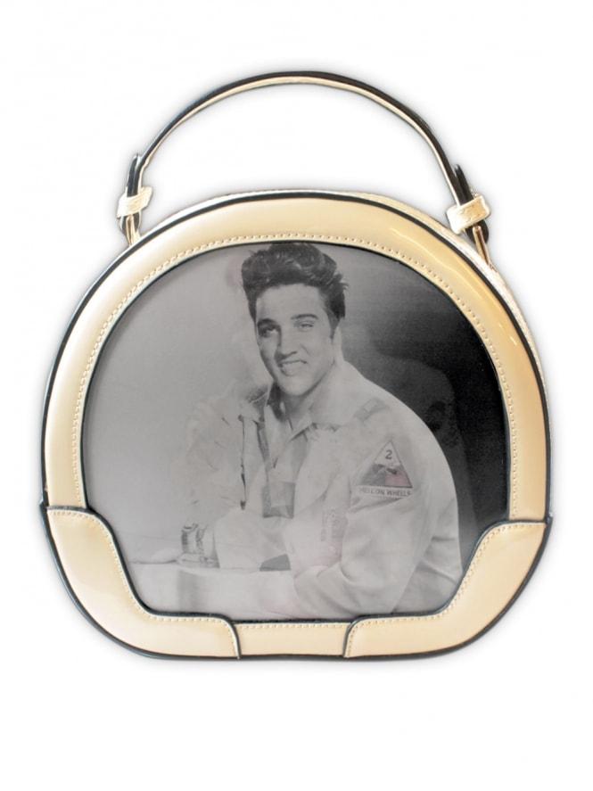 Elvis Cream Vanity Case