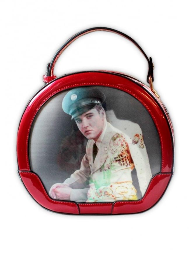 Elvis Red Vanity Case