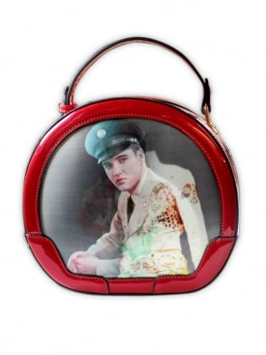 Elvis Red Vanity Case