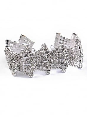 Fan Diamante Bracelet