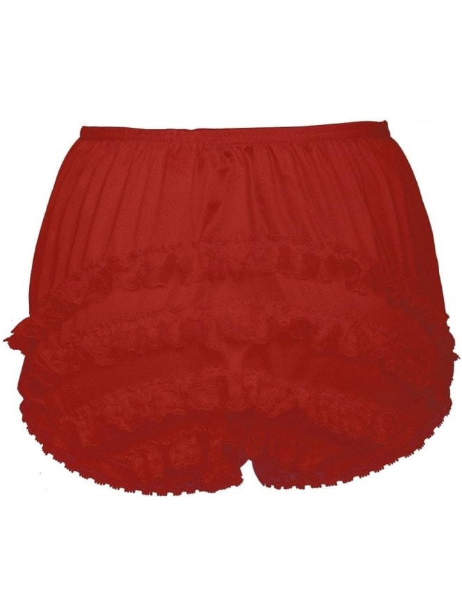 Frilly Knickers Red