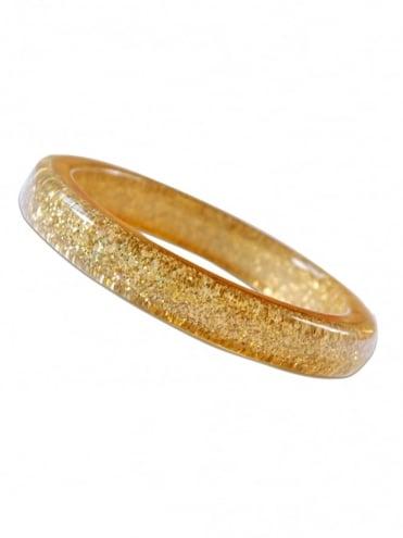Gold Glitter Bangle