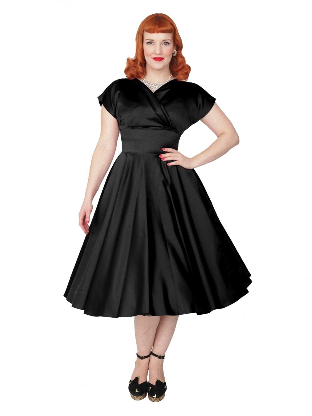 Grace Dress Black Duchess from Vivien of Holloway