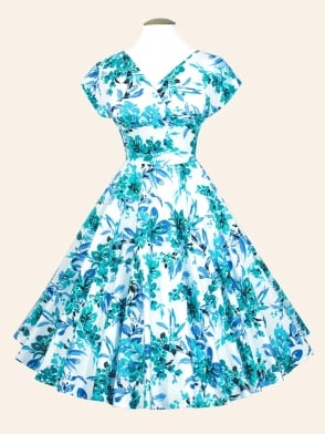 Grace Dress Blue Orchid