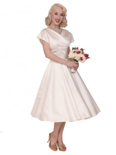 1940s-1950s-Vivien-of-Holloway-Wedding-Dress-Ivory-Duchess-Grace-Hollywood-Swing-Pinup