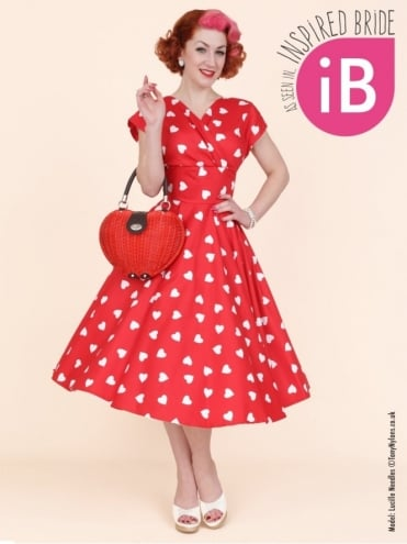 40s-1940s-Vivien-of-Holloway-Best-Vintage-Reproduction-Grace-Wrap-Circle-Dress-Red-White-Sweetheart-Heart-Print-Hollywood-Swing-Pinup