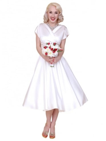 40s-1940s-Vivien-of-Holloway-Best-Vintage-Reproduction-Grace-Wrap-Circle-Dress-Wedding-White-Duchess-Satin-Hollywood-Swing-Pinup