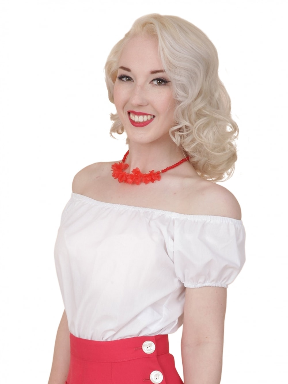 Gypsy Top Classic White from Vivien of Holloway
