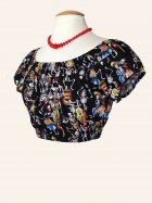 Gypsy Top Cropped Day Of The Dead No Trim