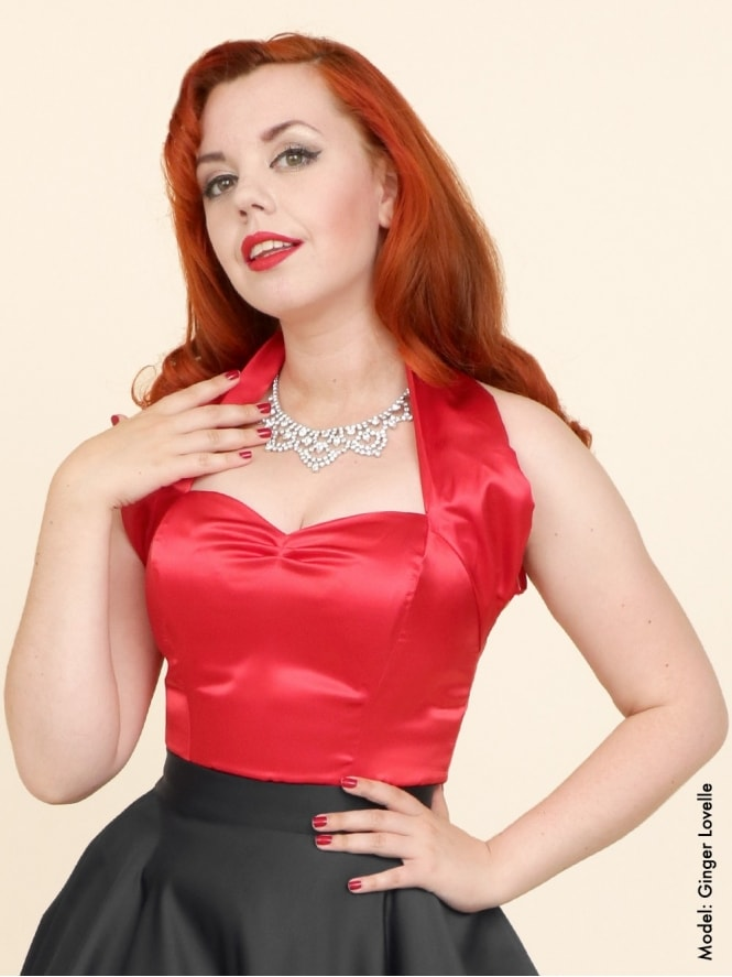 50s-1950s-Vivien-of-Holloway-Best-Vintage-Style-Reproduction-Repro-Halterneck-Top-Red-Satin-Rockabilly-Swing-Pinup