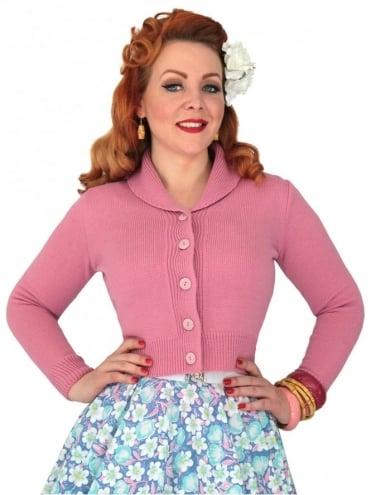 Jenny Cardigan Dusky Pink