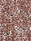 Jezebel Leopard Brown Dress