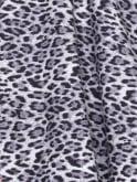 Jezebel Leopard Silver Dress