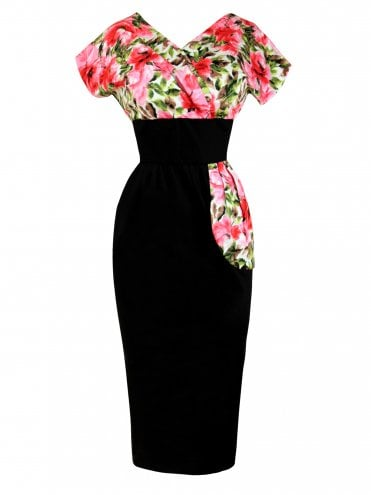 b78cf7af6f 1940s and 1950s Jezebel Wrap Pencil Dresses from Vivien of Holloway ...