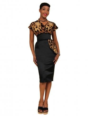 d07b57ee5da5 Jezebel Wild Cat Bust Dress