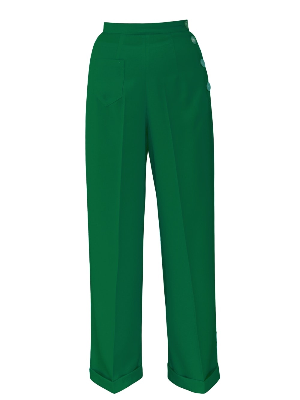 8d2c53d41cdc63 Katharine Trousers Crepe Emerald From Vivien Of Holloway