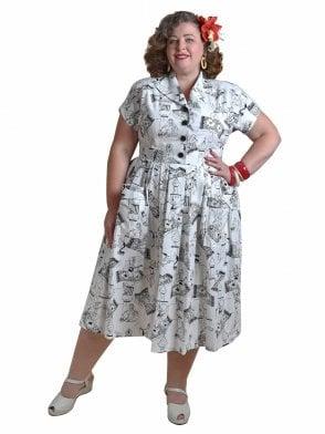a332da4bcf07 1950s Dresses & Clothing l Vivien of Holloway