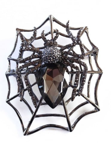 Large Spider Brooch
