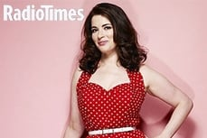 Nigella Lawson wears Vivien of Holloway in The Radio Times