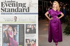 Paloma Faith wearing Vivian of Holloway in the London Evening Standard, 23 oct 2015