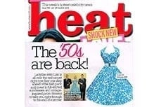 Heat Magazine featuring Vivien of Holloway Halterneck Dress, March 2013