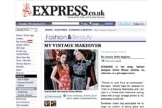 Vivien of Holloway in the Express, 19 january 2012
