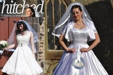 Vivien of Holloway in Hitched magazine, spring 2011