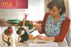 Vivien of Holloway in Making magazine, january 2011