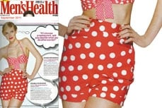 Vivien of Holloway in Men's Health magazine, September 2011