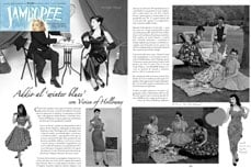 Vivien of Holloway in Jamboree magazine, march 2013