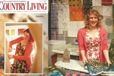 Vivien of Holloway in Country Living magazine, march 2012