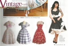 Vivien of Holloway in Vintage Explorer magazine, august 2012