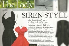 Vivien of Holloway in the Lady magazine, august 2012