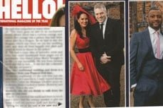 Vivien of Holloway in Hello magazine, 10 march 2014