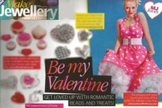 Vivien of Holloway in Make Jewellery Magazine, February 2012