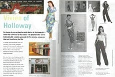 Vivien of Holloway in Milkcow Magazine, November 2009