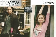 Vivien of Holloway in The View magazine, December 2009