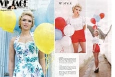 Vivien of Holloway in Vintage Life Magazine, august 2016