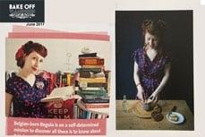 Vivien of Holloway featured in Bake Off Vlaanderen, magazines, june2017