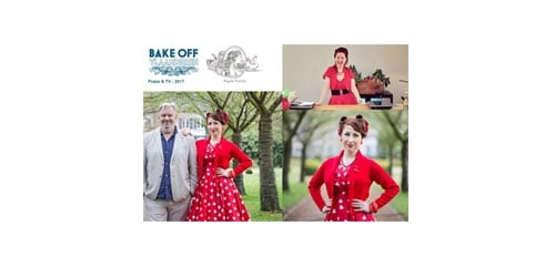 Vivien of Holloway featured in Bake Off Vlaanderen