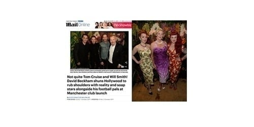 Mahiki Manchester opening party
