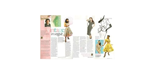 Vivien of Holloway in Sew Magazine