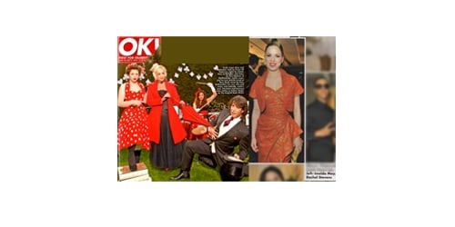 Vivien of Holloway in OK magazine, 21 September 2010