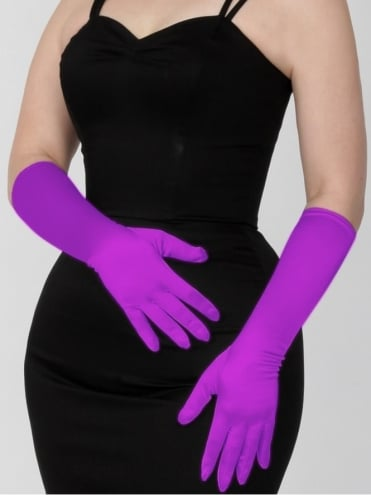 Medium Gloves Magenta