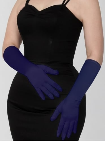 Medium Gloves Navy