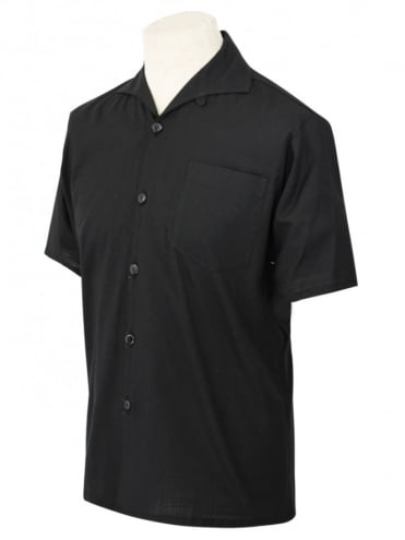 Men's Short-Sleeved Black