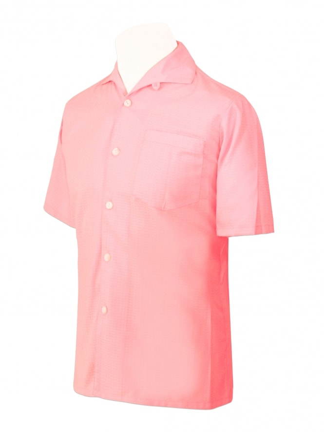 Men's Short-Sleeved Box Pink